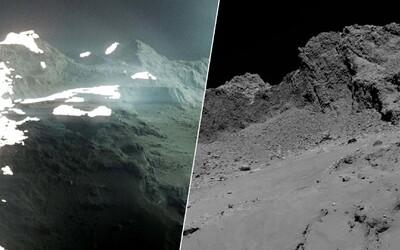 Videl si už asteroid a hviezdu, no takto vyzerá povrch kométy