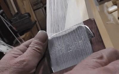 Videl si už niekedy tenší kúsok dreva? Hobliny z Japonska môžu byť užšie než ľudský vlas