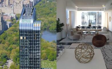 Viděl jsi už penthouse v srdci New Yorku za 28,5 milionu dolarů? Hříšný luxus v interiéru i exteriéru podtrhuje exkluzivitu