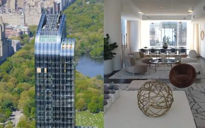Videl si už penthouse v srdci New Yorku za 28,5 milióna dolárov? Hriešny luxus v interiéri aj exteriéri podčiarkuje exkluzivitu