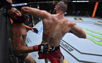 VIDEO: 10 brutálních knockoutů v UFC. Kopy na hlavu, smrtící loket z otočky i pekelný zvedák