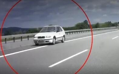 VIDEO: 89letý důchodce jezdil na D1 v protisměru, zasahovat musel vrtulník