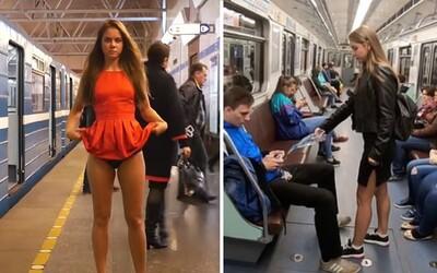 Video aktivistky, která mužům do rozkroku lila bělidlo, je podvod. Jsou v něm herci a má vzbudit nenávist vůči feministkám