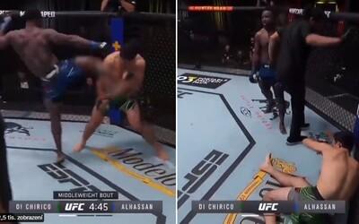 VIDEO: Brutální KO za 17 sekund. UFC bojovník soupeře ukončil kopem do hlavy