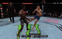 VIDEO: Desivé zranenie z UFC. Bojovník si zlomil nohu na polovicu hneď po 17 sekundách zápasu, protivník vyhral bez jediného úderu
