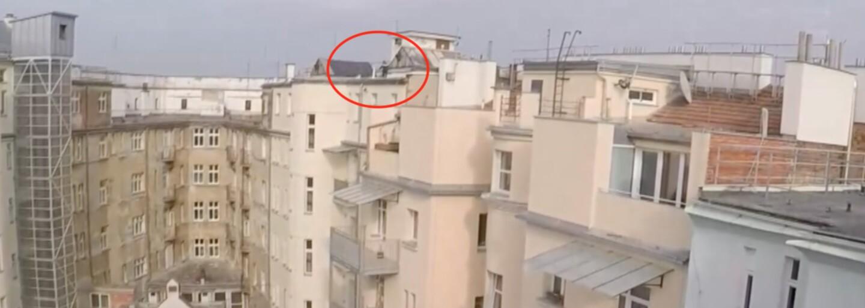 VIDEO: Mladík v Brně utíkal před policií po střechách domů. Na svobodě pobyl jen 12 dní