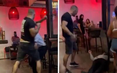 VIDEO: MMA zápasník zbil návštěvníka baru. Policistům řekl, že se bál a jednal v sebeobraně