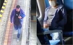 VIDEO: Muž si vo vlaku vytiahol penis a onanoval pred dievčaťom. Polícia žiada o pomoc pri jeho pátraní