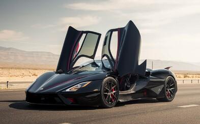 VIDEO: Nejrychlejší sériově vyráběný automobil na světě dosáhl rychlosti až 533 km/h