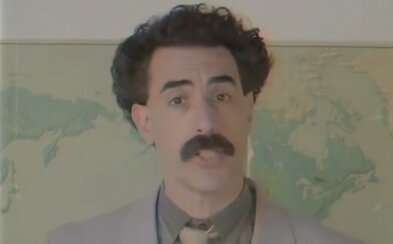 VIDEO: Nevolte, neškoďte velkolepému Trumpovi, vyzývá Borat americké ženy