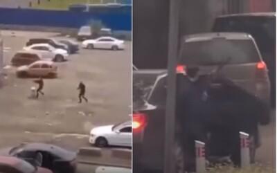 Video: Ruská přestřelka jako z GTA je údajně činem moskevské mafie