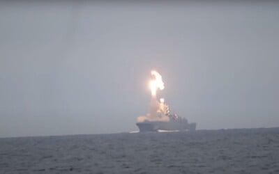 VIDEO: Rusko testovalo nebezpečnú raketu Zirkón, ktorú nezachytia radary