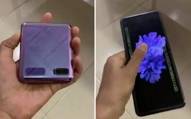 Video: Samsung chystá ďalší skladací mobil. Galaxy Z Flip vraj bude stáť 1 500 eur