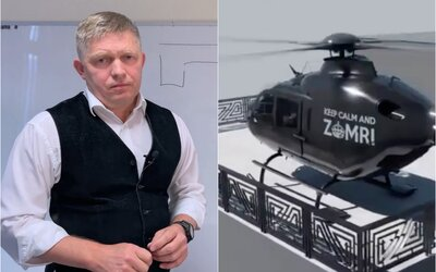 VIDEO: Slovák urobil simuláciu, ako Ficovi na terase pristáva veľký vrtuľník. Výpočtom je koniec