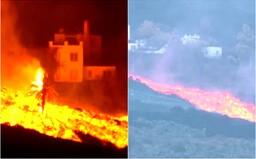VIDEO: Takto pohltila láva zo sopky domy na Kanárskych ostrovoch. Evakuovať museli vyše 6 000 obyvateľov