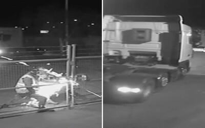 VIDEO: Trojica zlodejov ukradla nákladný kontajner s ústnou vodou a so žuvačkami v hodnote takmer 30-tisíc eur