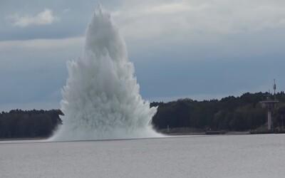 VIDEO: V Polsku explodovala největší nevybuchlá bomba z druhé světové války