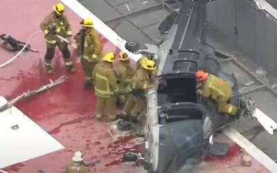 VIDEO: Vrtuľník prevážajúci srdce na transplantáciu havaroval.  Zdravotník sa s orgánom potkol a spadol mu na zem