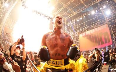 VIDEO: Youtuber Jake Paul v 1. kole ukončil bývalého bojovníka UFC. Boj netrval ani 2 minuty