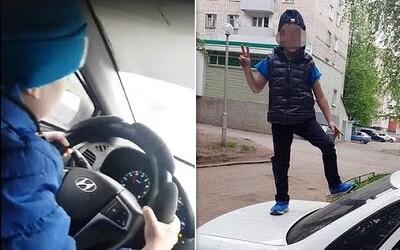 Video z Ruska zachycuje, jak šestiletý chlapec řídí v rychlosti 130 km/h. Ničeho nelituji, syna učím i střílet, vzkazuje matka