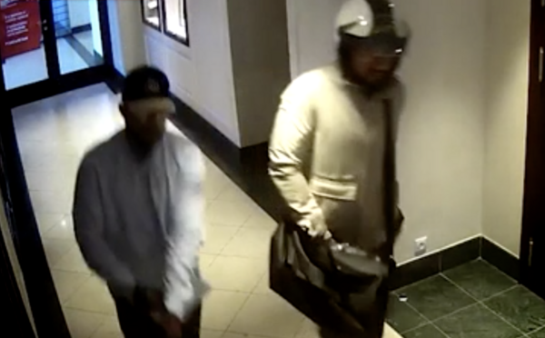 Video zaznamenává, jak slovenští lupiči ukradli hodinky za 500 000 € za bílého dne