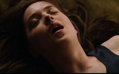 Video zo zákulisia Päťdesiat odtieňov temnoty odhaľuje psychologickú zápletku a vývin erotických hrátok