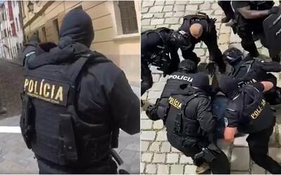 Video zo zásahu kukláčov v Bratislave pobúrilo ľudí. Takto akciu hodnotí jeden z policajtov