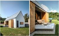 Vidiek Banskobystrického kraja za chrbtom a bývanie v modernej drevostavbe. Viete si vôbec predstaviť lepšie miesto pre život?