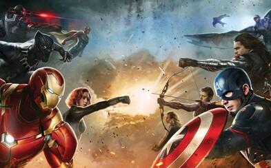 Vieme, kto sa v Civil War postaví na stranu Capa a kto bude bojovať za Iron Mana!