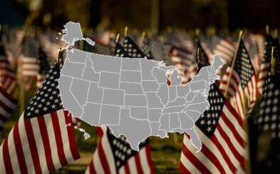 Vieš, kde leží Texas či Kalifornia? Otestuj sa v slepej mape Spojených štátov amerických (Kvíz)