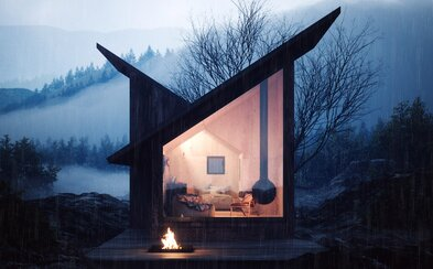Víkendová chata, ktorú si môžeš užívať kdekoľvek na svete. Modulárne dielo talianskych architektov je pastvou pre oči