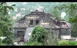Vilu mafiána Radovana Krejčíře zachvátil požár. Původní hodnota domu byla 400 milionů korun