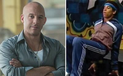 Vin Diesel ako mladý chalan miloval breakdance a hip-hop. V tanečnom videu ti ukáže, ako na to