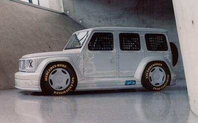 Virgil Abloh premenil ikonický Mercedes G na bizarný pretekársky koncept. Cieľom bola jedinečnosť, skonštatoval