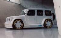Virgil Abloh proměnil ikonický Mercedes G v bizarní závodní koncept. Cílem byla jedinečnost, konstatoval