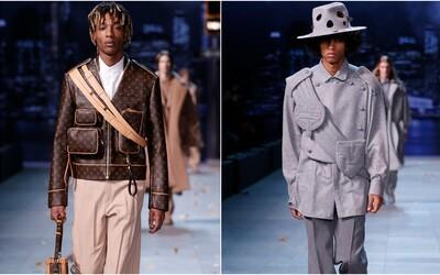 Virgil Abloh v nové kolekci pro Louis Vuitton vzdává poctu Michaelu Jacksonovi