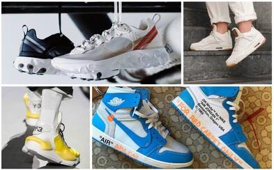 Virgilovy Air Jordan 1, futuristické Y-3 či renovovaná klasika od Converse. Co nám zatím přinesl svět tenisek v roce 2018?