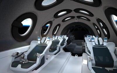 Virgin Galactic odhalila interiér svojho vesmírneho autobusu. Čoskoro odvezie prvých vesmírnych turistov