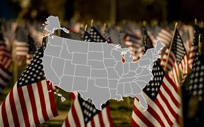 Víš, kde leží Texas nebo Kalifornie? Otestuj se v slepé mapě Spojených států amerických (Kvíz)