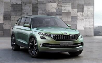 VisionS oficiálne! Prvé SUV od Škody bude hybridná štvorkolka s atraktívnym dizajnom