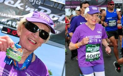 Vitálna 92-ročná starenka sa stala najstaršou ženou, ktorá kedy pokorila maratón!