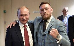 Vladimir Putin dal otestovat whisky Conora McGregora na přítomnost jedu. Bojovník mu daroval první vyrobenou láhev