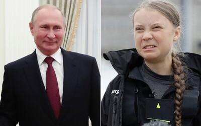 Vladimir Putin ostro útočí na Gretu Thunberg. Nazval ju zle informovanou zmanipulovanou tínedžerkou, ktorú niekto zneužíva