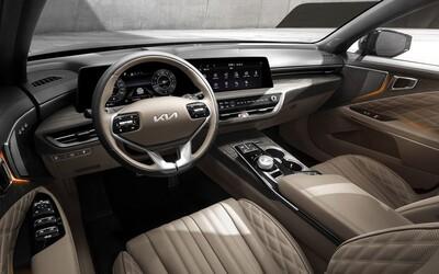 Vlajková loď značky Kia ukázala luxusný interiér, o pohon sa postarajú až 4 motorické verzie