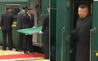 Vlak Kim Čong-una netrafil na návšteve Ruska pred červený koberec