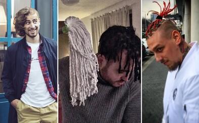 Vlasové experimenty slovenských raperov a známych osobností, ktoré nie vždy vyjdú podľa predstáv