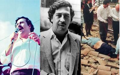Vlastní luxusní vězení, 60 milionů denně a smrt kvůli telefonátu. Jak padal Pablo Escobar z trůnu drogového krále?