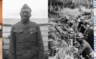 Vlastnými rukami ubránil kamaráta pred 20 ozbrojenými Nemcami. Ako šikanovaný černošský pluk zmenil boje prvej svetovej vojny