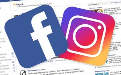Na Facebooku se budou zobrazovat upozornění z Instagramu. Sociální síť chystá hlubší integraci