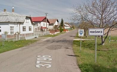 Vo Fekišovciach niekto ukradol tabuľu s názvom obce